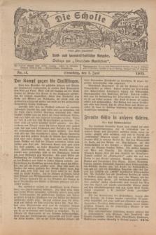 """Die Scholle : früher """"Der Ostmärker"""" : land- und hauswirtschaftlicher Ratgeber : Beilage zur """"Deutschen Rundschau"""". 1925, Nr. 11 (1 Juni)"""