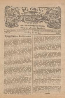 """Die Scholle : früher """"Der Ostmärker"""" : land- und hauswirtschaftlicher Ratgeber : Beilage zur """"Deutschen Rundschau"""". 1925, Nr. 13 (28 Juni)"""
