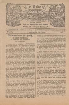 """Die Scholle : früher """"Der Ostmärker"""" : land- und hauswirtschaftlicher Ratgeber : Beilage zur """"Deutschen Rundschau"""". 1925, Nr. 20 (4 Oktober)"""