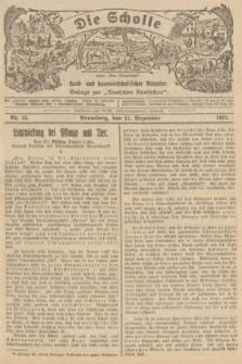 """Die Scholle : früher """"Der Ostmärker"""" : land- und hauswirtschaftlicher Ratgeber : Beilage zur """"Deutschen Rundschau"""". 1927, Nr. 25 (11 Dezember)"""
