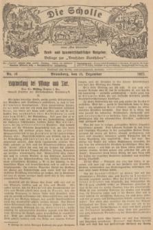 """Die Scholle : früher """"Der Ostmärker"""" : land- und hauswirtschaftlicher Ratgeber : Beilage zur """"Deutschen Rundschau"""". 1927, Nr. 26 (25 Dezember)"""