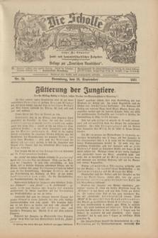 """Die Scholle : früher """"Der Ostmärker"""" : land- und hauswirtschaftlicher Ratgeber : Beilage zur """"Deutschen Rundschau"""". 1931, Nr. 20 (20 September)"""