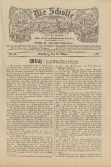 """Die Scholle : früher """"Der Ostmärker"""" : land- und hauswirtschaftlicher Ratgeber : Beilage zur """"Deutschen Rundschau"""". 1931, Nr. 22 (18 Oktober)"""