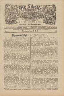 """Die Scholle : früher """"Der Ostmärker"""" : land- und hauswirtschaftlicher Ratgeber : Beilage zur """"Deutschen Rundschau"""". 1932, Nr. 8 (17 April)"""