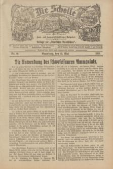 """Die Scholle : früher """"Der Ostmärker"""" : land- und hauswirtschaftlicher Ratgeber : Beilage zur """"Deutschen Rundschau"""". 1932, Nr. 10 (15 Mai)"""