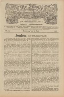 """Die Scholle : früher """"Der Ostmärker"""" : land- und hauswirtschaftlicher Ratgeber : Beilage zur """"Deutschen Rundschau"""". 1932, Nr. 12 (12 Juni)"""