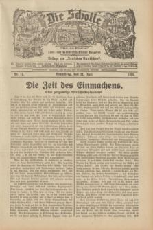 """Die Scholle : früher """"Der Ostmärker"""" : land- und hauswirtschaftlicher Ratgeber : Beilage zur """"Deutschen Rundschau"""". 1932, Nr. 15 (24 Juli)"""