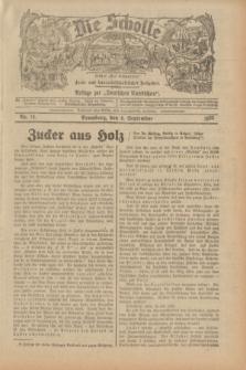 """Die Scholle : früher """"Der Ostmärker"""" : land- und hauswirtschaftlicher Ratgeber : Beilage zur """"Deutschen Rundschau"""". 1932, Nr. 18 (4 September)"""