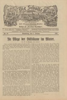 """Die Scholle : früher """"Der Ostmärker"""" : land- und hauswirtschaftlicher Ratgeber : Beilage zur """"Deutschen Rundschau"""". 1932, Nr. 20 (2 Oktober)"""