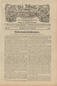 """Die Scholle : früher """"Der Ostmärker"""" : land- und hauswirtschaftlicher Ratgeber : Beilage zur """"Deutschen Rundschau"""". 1932, Nr. 26 (25 Dezember)"""
