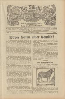 """Die Scholle : früher """"Der Ostmärker"""" : land- und hauswirtschaftlicher Ratgeber : Beilage zur """"Deutschen Rundschau"""". 1933, Nr. 8 (16 April)"""