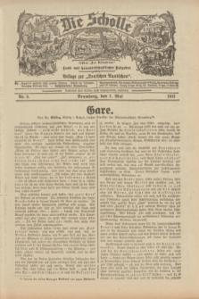 """Die Scholle : früher """"Der Ostmärker"""" : land- und hauswirtschaftlicher Ratgeber : Beilage zur """"Deutschen Rundschau"""". 1933, Nr. 9 (3 Mai)"""