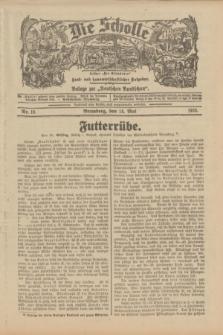 """Die Scholle : früher """"Der Ostmärker"""" : land- und hauswirtschaftlicher Ratgeber : Beilage zur """"Deutschen Rundschau"""". 1933, Nr. 10 (14 Mai)"""