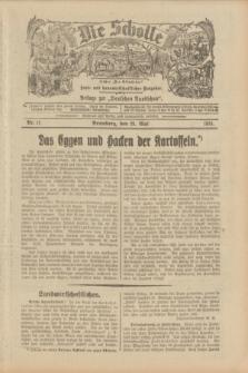 """Die Scholle : früher """"Der Ostmärker"""" : land- und hauswirtschaftlicher Ratgeber : Beilage zur """"Deutschen Rundschau"""". 1933, Nr. 11 (28 Mai)"""