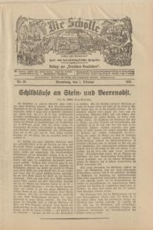 """Die Scholle : früher """"Der Ostmärker"""" : land- und hauswirtschaftlicher Ratgeber : Beilage zur """"Deutschen Rundschau"""". 1933, Nr. 20 (1 Oktober)"""