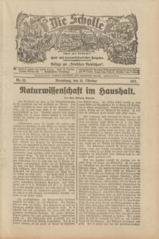 """Die Scholle : früher """"Der Ostmärker"""" : land- und hauswirtschaftlicher Ratgeber : Beilage zur """"Deutschen Rundschau"""". 1933, Nr. 22 (21 Oktober)"""