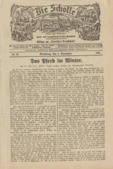 """Die Scholle : früher """"Der Ostmärker"""" : land- und hauswirtschaftlicher Ratgeber : Beilage zur """"Deutschen Rundschau"""". 1933, Nr. 23 (5 November)"""