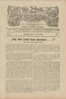 """Die Scholle : früher """"Der Ostmärker"""" : land- und hauswirtschaftlicher Ratgeber : Beilage zur """"Deutschen Rundschau"""". 1933, Nr. 24 (12 November)"""