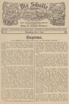 """Die Scholle : früher """"Der Ostmärker"""" : land- und hauswirtschaftlicher Ratgeber : Beilage zur """"Deutschen Rundschau"""". 1935, Nr. 22 (9 Juni)"""