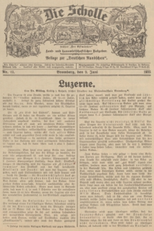 """Die Scholle : früher """"Der Ostmärker"""" : land- und hauswirtschaftlicher Ratgeber : Beilage zur """"Deutschen Rundschau"""". 1935, Nr. 23 (9 Juni)"""