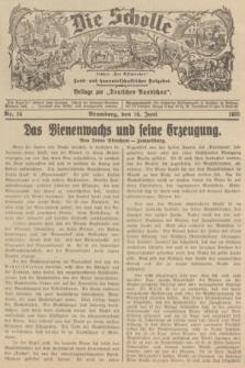 """Die Scholle : früher """"Der Ostmärker"""" : land- und hauswirtschaftlicher Ratgeber : Beilage zur """"Deutschen Rundschau"""". 1935, Nr. 24 (16 Juni)"""