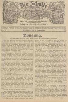 """Die Scholle : früher """"Der Ostmärker"""" : land- und hauswirtschaftlicher Ratgeber : Beilage zur """"Deutschen Rundschau"""". 1935, Nr. 43 (1 November)"""