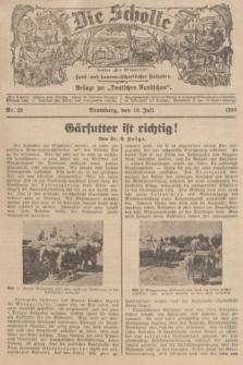 """Die Scholle : früher """"Der Ostmärker"""" : land- und hauswirtschaftlicher Ratgeber : Beilage zur """"Deutschen Rundschau"""". 1936, Nr. 28 (19 Juli)"""