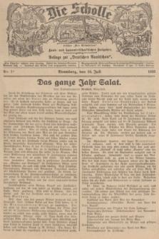 """Die Scholle : früher """"Der Ostmärker"""" : land- und hauswirtschaftlicher Ratgeber : Beilage zur """"Deutschen Rundschau"""". 1936, Nr. 29 (26 Juli)"""