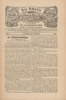 """Die Scholle : früher """"Der Ostmärker"""" : land- und hauswirtschaftlicher Ratgeber : Beilage zur """"Deutschen Rundschau"""". 1928, Nr. 3 (4 Februar)"""