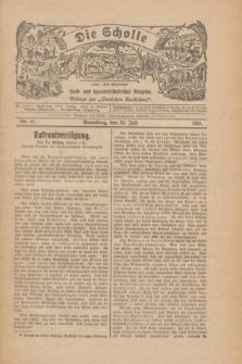"""Die Scholle : früher """"Der Ostmärker"""" : land- und hauswirtschaftlicher Ratgeber : Beilage zur """"Deutschen Rundschau"""". 1928, Nr. 15 (22 Juli)"""