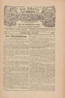 """Die Scholle : früher """"Der Ostmärker"""" : land- und hauswirtschaftlicher Ratgeber : Beilage zur """"Deutschen Rundschau"""". 1928, Nr. 18 (2 September)"""