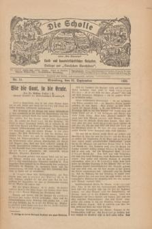 """Die Scholle : früher """"Der Ostmärker"""" : land- und hauswirtschaftlicher Ratgeber : Beilage zur """"Deutschen Rundschau"""". 1928, Nr. 20 (30 September)"""