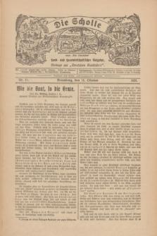 """Die Scholle : früher """"Der Ostmärker"""" : land- und hauswirtschaftlicher Ratgeber : Beilage zur """"Deutschen Rundschau"""". 1928, Nr. 21 (14 Oktober)"""