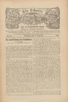 """Die Scholle : früher """"Der Ostmärker"""" : land- und hauswirtschaftlicher Ratgeber : Beilage zur """"Deutschen Rundschau"""". 1929, Nr. 26 (22 Dezember)"""