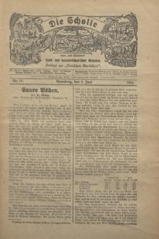 """Die Scholle : früher """"Der Ostmärker"""" : land- und hauswirtschaftlicher Ratgeber : Beilage zur """"Deutschen Rundschau"""". 1930, Nr. 12 (8 Juni)"""