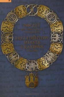 Poczet sołtysów, wójtów, burmistrzów i prezydentów miasta Krakowa : 1228-2010