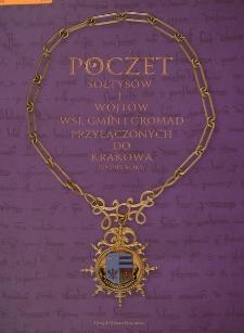 Poczet sołtysów i wójtów wsi, gmin i gromad przyłączonych do Krakowa po 1915 roku