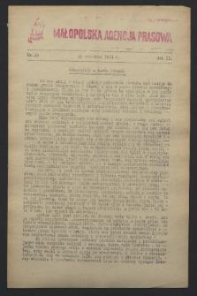 Małopolska Agencja Prasowa. R.2, nr 35 (22 września 1944)