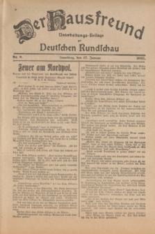 Der Hausfreund : Unterhaltungs-Beilage zur Deutschen Rundschau. 1925, Nr. 8 (17 Januar)