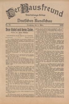 Der Hausfreund : Unterhaltungs-Beilage zur Deutschen Rundschau. 1925, Nr. 32 (5 März)