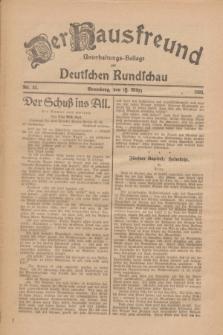 Der Hausfreund : Unterhaltungs-Beilage zur Deutschen Rundschau. 1926, Nr. 52 (15 März)