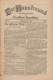 Der Hausfreund : Unterhaltungs-Beilage zur Deutschen Rundschau. 1926, Nr. 80 (2 Mai)