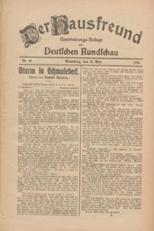 Der Hausfreund : Unterhaltungs-Beilage zur Deutschen Rundschau. 1926, Nr. 90 (16 Mai)