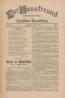 Der Hausfreund : Unterhaltungs-Beilage zur Deutschen Rundschau. 1926, Nr. 94 (23 Mai)