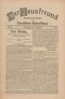 Der Hausfreund : Unterhaltungs-Beilage zur Deutschen Rundschau. 1926, Nr. 233 (2 Dezember)