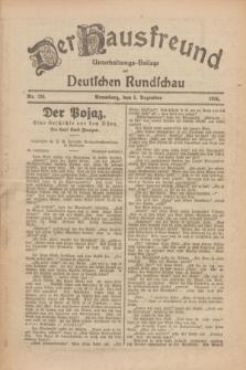 Der Hausfreund : Unterhaltungs-Beilage zur Deutschen Rundschau. 1926, Nr. 236 (5 Dezember)