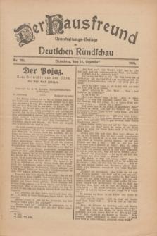 Der Hausfreund : Unterhaltungs-Beilage zur Deutschen Rundschau. 1926, Nr. 239 (10 Dezember)