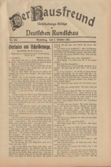 Der Hausfreund : Unterhaltungs-Beilage zur Deutschen Rundschau. 1931, Nr. 226 (2 Oktober)