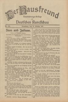 Der Hausfreund : Unterhaltungs-Beilage zur Deutschen Rundschau. 1931, Nr. 238 (16 Oktober)