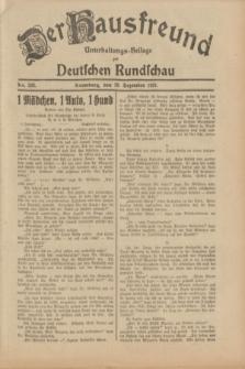 Der Hausfreund : Unterhaltungs-Beilage zur Deutschen Rundschau. 1931, Nr. 292 (19 Dezember)